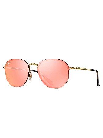 0c1b1b53d Óculos Ray Ban Blaze Hexagonal SPOC - Chic Outlet - Economize com ...
