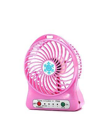 Mini Ventilador Portátil Rosa