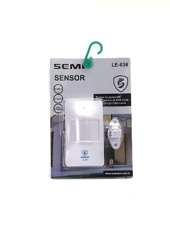Sensor De Presença Sonoro