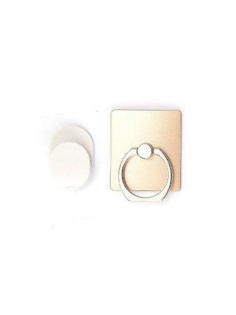Suporte Anel Ring Com Suporte Para Smartphone Dourado