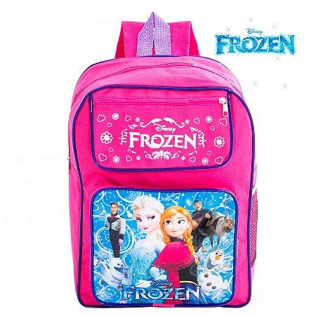 Mochila Infantil Escolar de Costas Frozen