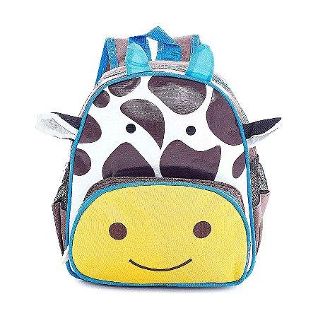 Mochila Infantil Escolar Skip Zoo Hop Bichinhos Girafa