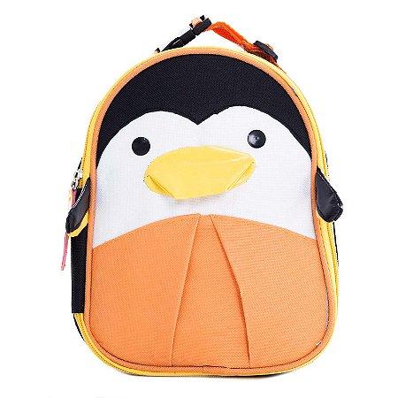 Lancheira Infantil Skip Zoo Hop Bichinhos Pinguim