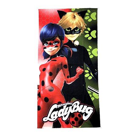 Toalha De Banho LadyBug Felpuda Infantil Personagens
