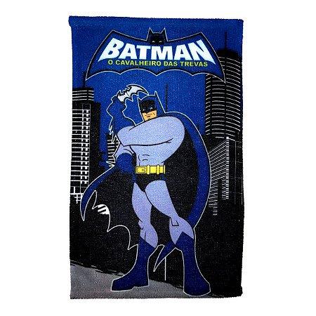 Toalha De Rosto E Mão Batman Felpuda Infantil Personagens