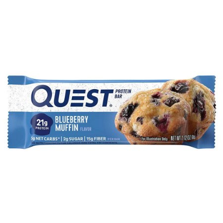 Quest Nutrition Protein Bar Blueberry Muffin
