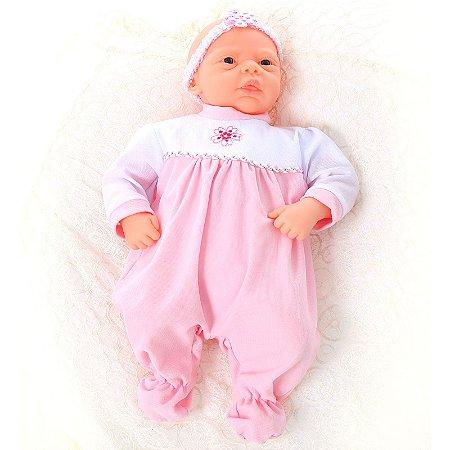 Boneca Tipo Bebe Reborn Ana - Frases