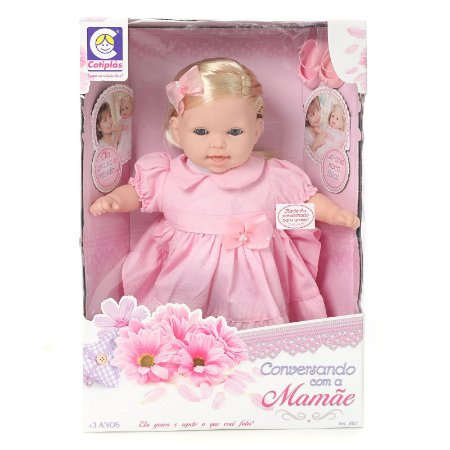 Boneca Tipo Bebe Reborn Juzinha - Grava e Repete