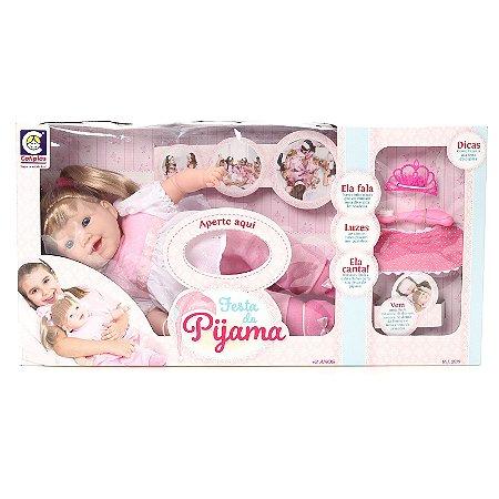 Boneca Festa Do Pijama - Cotiplás