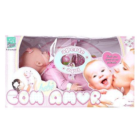 Boneca Bebê Com Amor 258 - Super Toys