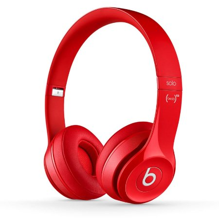 Fone de ouvido Beats Solo2 Original c/ Fio – Vermelho