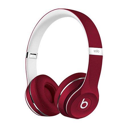 Fone de ouvido Beats Solo2 Original c/ Fio – Magenta