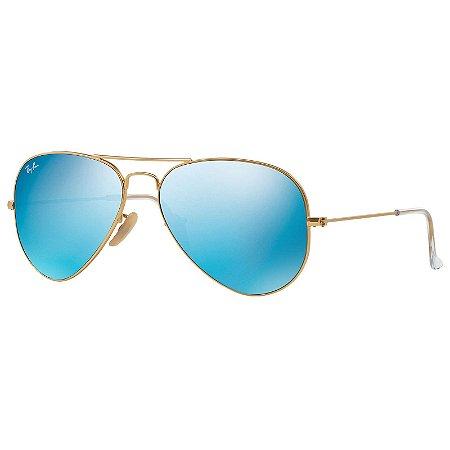 Óculos Ray Ban Aviator Espelhado