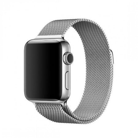 Pulseira Estilo Milanês para Apple Watch 42mm- Prateado
