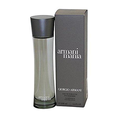 01465a0b493 Perfume Armani Mania By Giorgio Armani Masculino Eau De Toilette 100ml