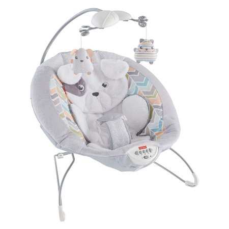 Cadeira de Descanso e Balanço para Bebê Brouncer Fisher Price Super Confortável
