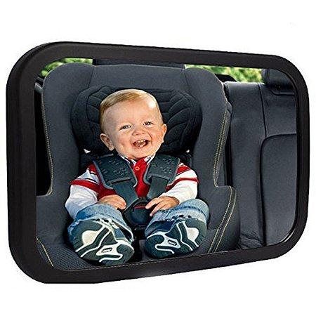 Espelho Retrovisor para Carro Bebê Adaptável Ajustável Mamãe