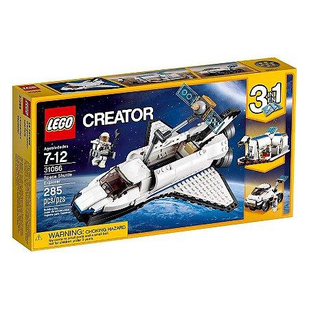 31066 - Lego Kit de Construção 3 em 1 Creator Nave Espacial
