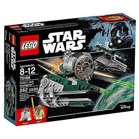 75168 - Lego Star Wars Kit de Construção Jedi Starfighter Yoda