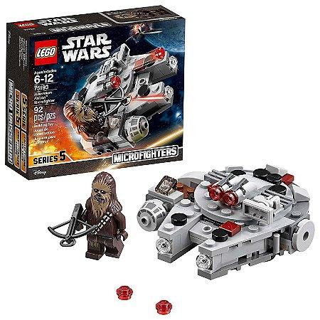 75193 - Lego Star Wars Kit de Construção Millennium Falcon Micro Lutador