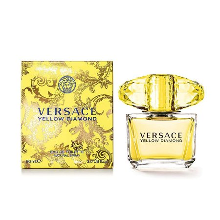 Perfume Versace Yellow Diamond Feminino Eau De Toilette 90ml