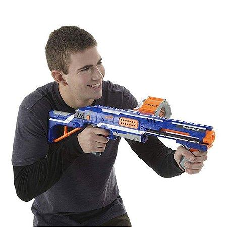 Lançador de Dardos Nerf N-Strike Elite Rampage Blaster
