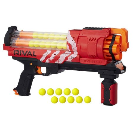 Lançador de Dardos Nerf Rival Artemis Xvii-3000 Vermelho