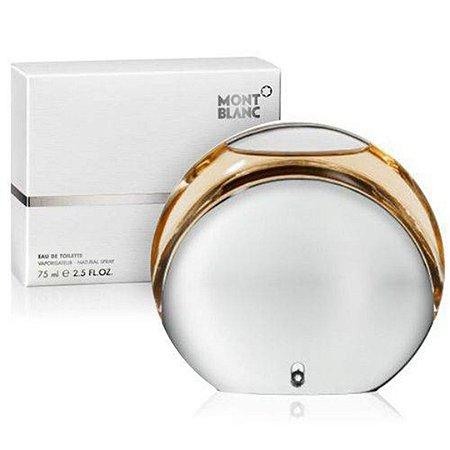 Perfume Presence D'une Femme Mont Blanc Feminino Eau de Toilette 75ml