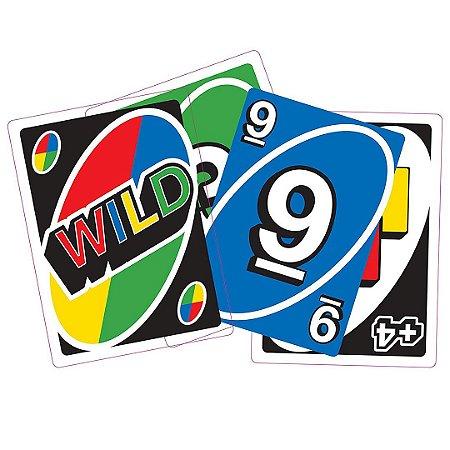 Jogo de Cartas Uno Grande Cardeal 2 a 10 Jogadores