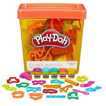 Balde de Atividades Infantil Play-Doh Divertido