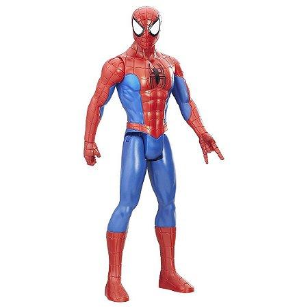 Boneco Homem Aranha Figura da SérieTitan Spider-Man DC Heróis com 30cm