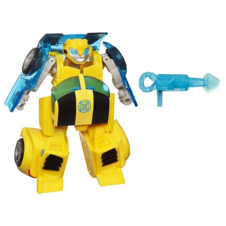 Robô Rescue Bots Playskool Heróis Transformers Bumblebee