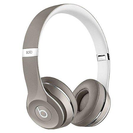 Fone de ouvido Beats Solo2 Original c/ Fio – Cinza
