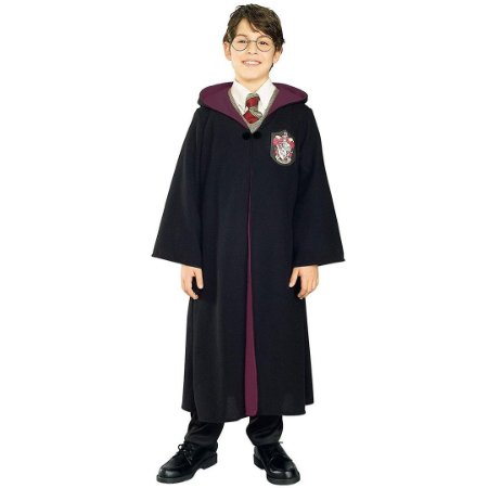 Fantasia Infantil Harry Potter Deluxe Costume Medium
