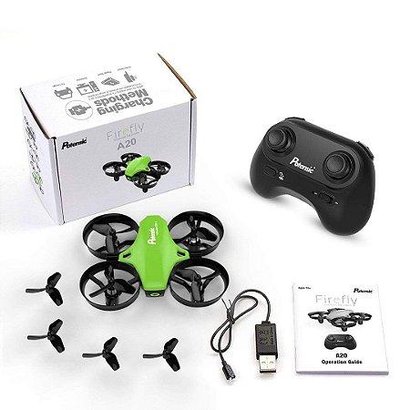 Drone Potensic A20 RC Nano Quadcopter 2.4G 6 Eixos Altitude Hold Função Headless Controle Remoto