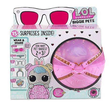 Boneca Lol Surprise Biggie Pet Hop Hop Infantil Original