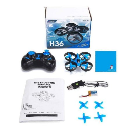 Drone REDPAWZ H36 2.4G Gyro Headless Controle Remoto One-Key Retorno RC Quadcopter