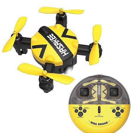Drone Hasakee Nano Hold Headless RC Quadcopter 3D Flips Rotação de Alta Velocidade