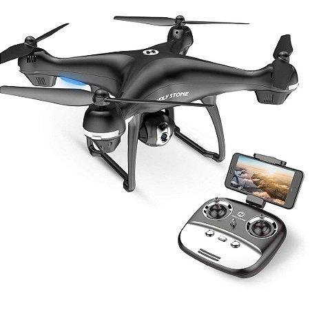 Drone Holy Stone HS100G 1080p FHD Câmera 5G GPS RC Quadcopter Hold Bateria Inteligente