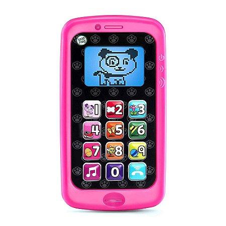 Divertido Telefone inteligente Infantil Chat & Count Musical Smart Phone Cores Sortidas