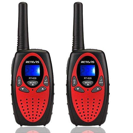 Mini-Rádio Infantil Walkie Talkie Retevis RT628 Rádio Toy Portátil Para Crianças