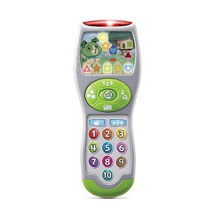 Divertido Controle Remoto LeapFrog Infantil Com 65 Músicas e Luzes