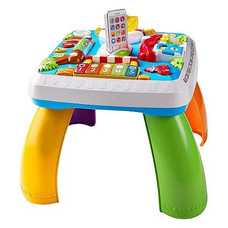 Mesa Interativa Infantil Fisher Price Passeando Pela Cidade Aprendendo a Brincar