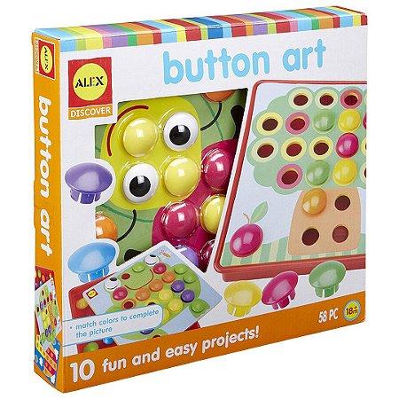 Brinquedo Descubra a Arte do Botão Alex Discover Infantil