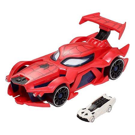 Carro Lançador Homem Aranha Hot Wheels Marvel Spider Man