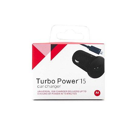 Carregador Veicular  Turbo Power Motorola