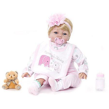Bebê Reborn Kaydora Bruna