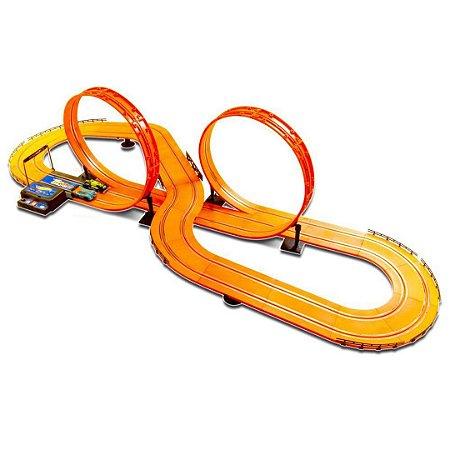 Pista de Corrida Autorama Infantil Hot Wheels Track Infantil