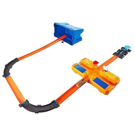 Hot Wheels Balde Completo Track Builder Multi Loop Infantil