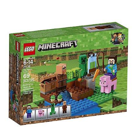 21138 - Lego Minecraft A Fazenda De Melões